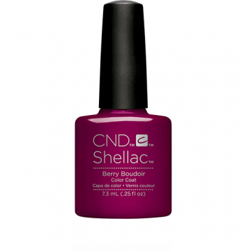 Lac unghii semipermanent CND Shellac Berry Boudoir 7.3ml