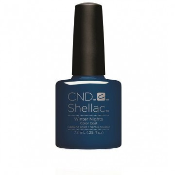 Lac unghii semipermanent CND Shellac Glacial Illusion Winter Nights 7.3ml