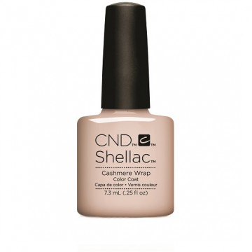 Lac unghii semipermanent CND Shellac Glacial Illusion Cashmere Wrap 7.3ml