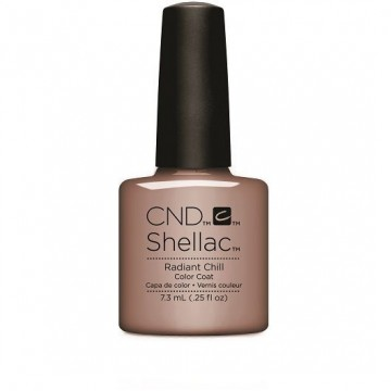 Lac unghii semipermanent CND Shellac Glacial Illusion Radiant Chill 7.3ml