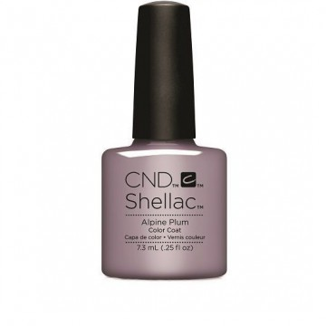 Lac unghii semipermanent CND Shellac Glacial Illusion Alpine Plum 7.3ml