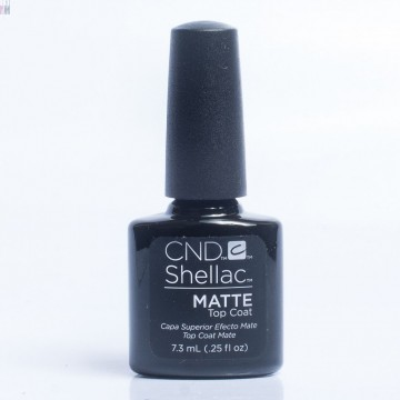 Lac unghii semipermanent CND Shellac MATTE TOP COAT 7.3 ML