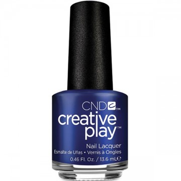 Lac unghii clasic CND Creative Play Stylish Sapphire 13.6ml