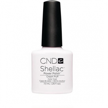 Lac unghii semipermanent CND Shellac Jumbo Cream Puff 15ml