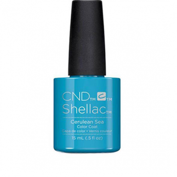 Lac unghii semipermanent CND Shellac Jumbo Cerueanu Sea 15ml