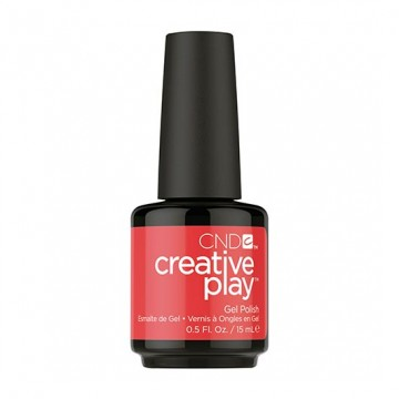 Lac unghii semipermanent CND Creative Play Gel Hottie Tomattie #453 15 ml