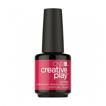 Lac unghii semipermanent CND Creative Play Gel Well Red #411 15ml