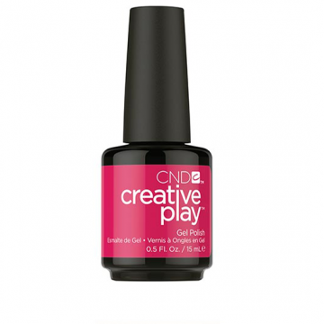 Lac unghii semipermanent CND Creative Play Gel Fuchsia Fling #500 15 ml
