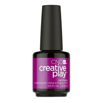 Lac unghii semipermanent CND Creative Play Gel #442 Fuchsia Is Ours 15ml