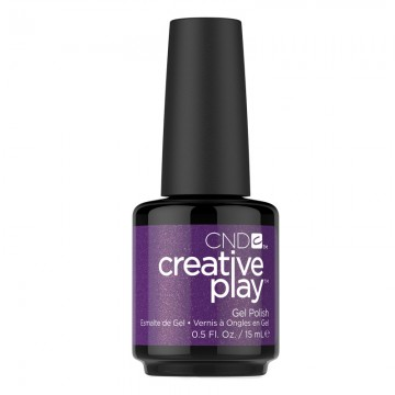 Lac unghii semipermanent CND Creative Play Gel #455 Miss Purplelarity 15ml