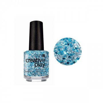 Lac de Unghii CND Creative Play Gel KISS TEAL 15 ml