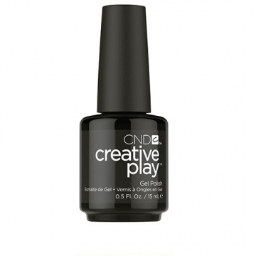 Lac unghii semipermanent Creative Play Gel Black Forth #451 15ml