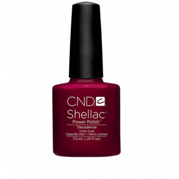 Lac unghii semipermanent CND Shellac Decadence 7.3ml
