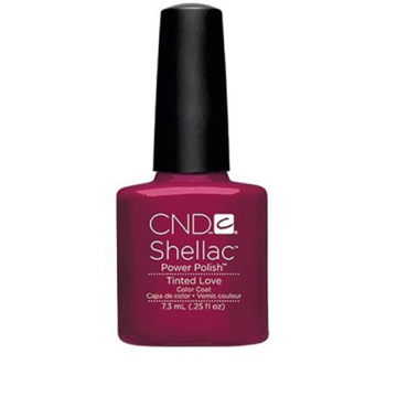 Lac unghii semipermanent CND Shellac Tinted Love 7.3ml