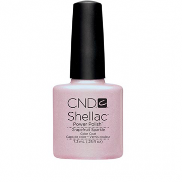 Lac unghii semipermanent CND Shellac Grapefruit Sparkle 7.3ml