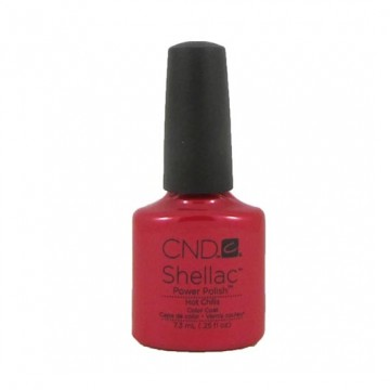 Lac unghii semipermanet CND Shellac Hot Chilis 7.3ml