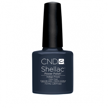 Lac unghii semipermanent CND Shellac Indigo Forth 7.3ml
