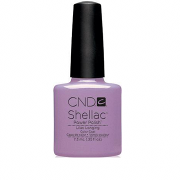 Lac unghii semipermanent CND Shellac Lilac Longing 7.3ml