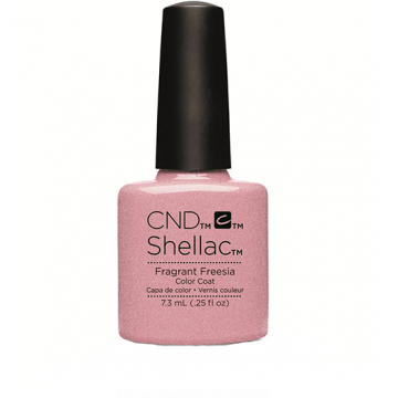 Lac unghii semipermanent CND Shellac Fragrant Freesia 7.3ml