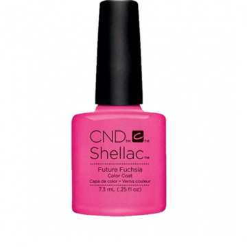 Lac unghii semipermanent CND Shellac Future Fuchsia 7.3ml