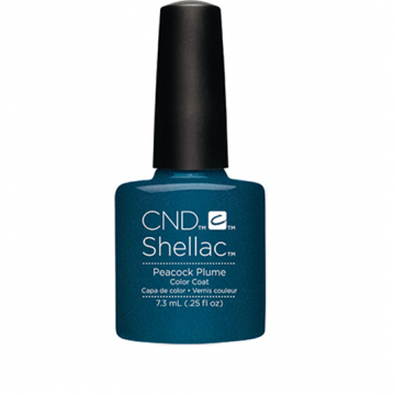 Lac unghii semipermanent CND Shellac Peacock Plume 7.3ml