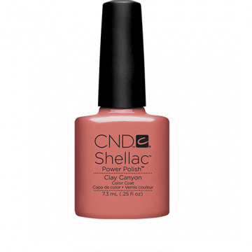 Lac unghii semipermanent CND Shellac Clay Canyon7.3ml