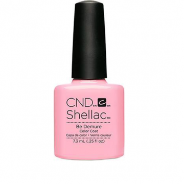 Lac unghii semipermanent CND Shellac Be Demure 7.3ml