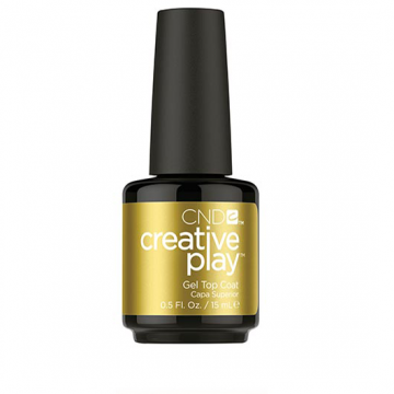Lac unghii semipermanent CND Creative Play Gel Top Coat 15 ml