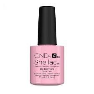 Lac unghii semipermanent CND Shellac Jumbo Be Demure 15ml