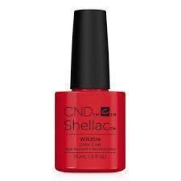 Lac unghii semipermanent CND Shellac Jumbo Wildfire 15ml