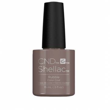 Lac unghii semipermanent CND Shellac Jumbo Rubble 15ml