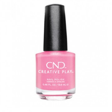Lac unghii semipermanent CND Creative Play Pink Intensity 13.6ml