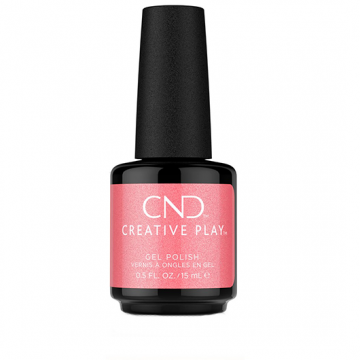 Lac unghii semipermanent CND Creative Play Gel#528 Pink Intensity 15ml
