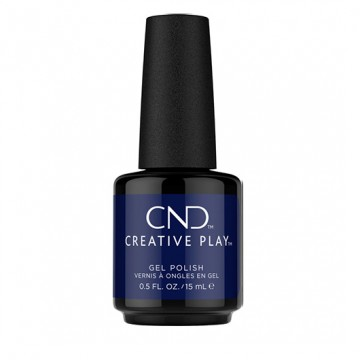 Lac unghii semipermanent CND Creative Play Navy Brat 15ml
