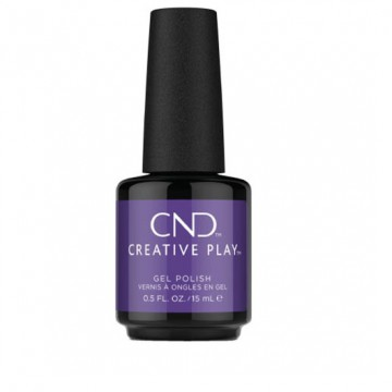 Lac unghii semipermanent CND Creative Play Isnt She Grape 15ml