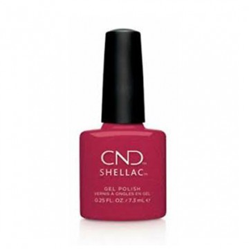 Lac unghii semipermanent CND Shellac UV Kiss on Fire 7.3ml