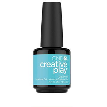 Lac unghii semipermanent CND Creative Play #536 Blue Horizon 15ml