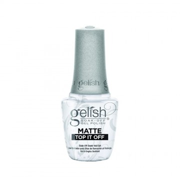 Top Coat Gelish UV Matte Top It Off 15ml