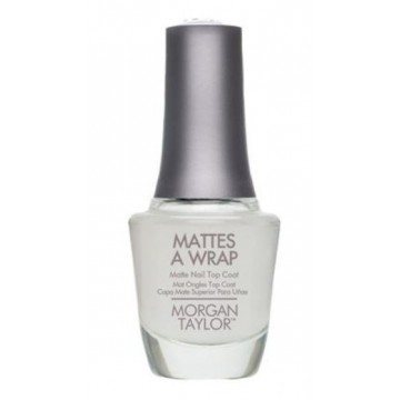 Top Coat cu efect mat Morgan Taylor Mattes A Wrap 15ml