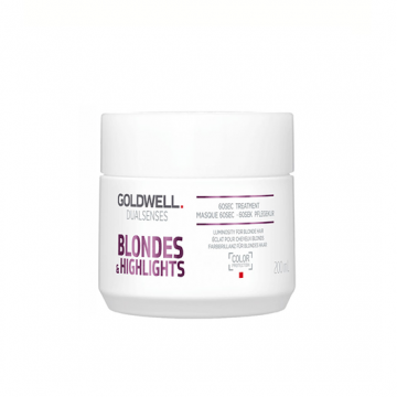 Tratament intensiv de par Goldwell Dualsences Blondes & Highlights pentru par degradat 200ml