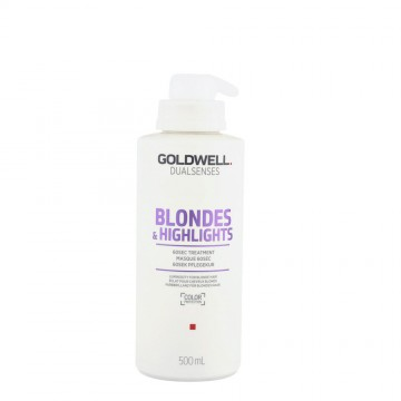 Tratament de par Goldwell Dualsenses Blondes & Highlights pentru par blond 500ml