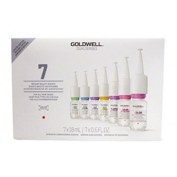 Set seruri tratament pentru par Goldwell Dualsenses Mix Serum 7x18ml