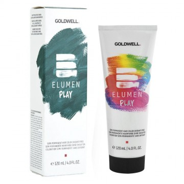 Vopsea de par semipermanenta Goldwell Elumen Play Metallic Petrol 120ml