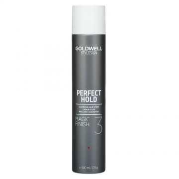 Spray de par Goldwell StyleSign Perfect Hold Magic Finish pentru stralucire puternica 500ml
