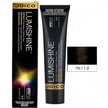 Vopsea de par permanenta Joico Lumishine Permanent Creme 1N 74ml