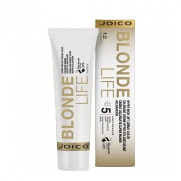 Vopsea de par permanenta Joico Blonde Life Hyper High Lift Color Champagne 74ml