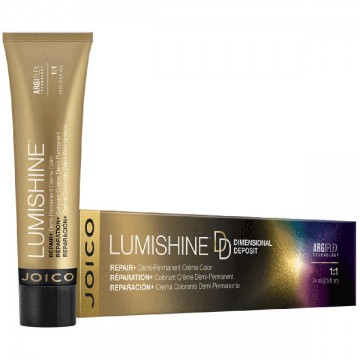 Vopsea de par demi-permanenta Joico Lumishine Demi Creme 8N 74ml