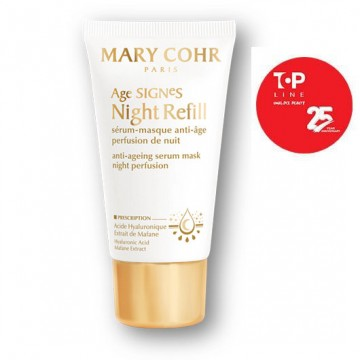 Serum masca Mary Cohr Age Signes Night Refill anti age 50ml