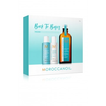 Kit pentru par Moroccanoil Back To Basics Volume