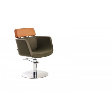 Scaun coafor Maletti Eco Fun Chair BI-Color